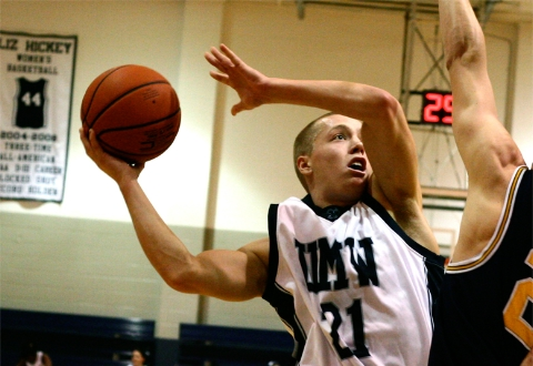 UMW Men's Basketball Falls at Wesley, 73-70