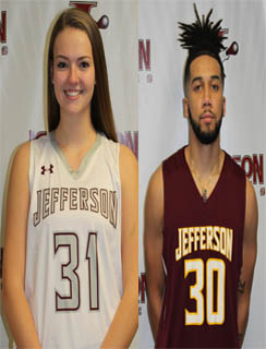 Chelsey Raven and Malik White Named Jefferson Co-Athletes of the Week
