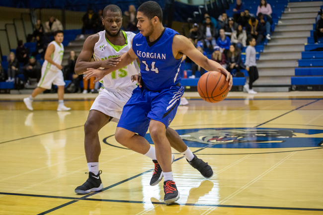 MEN'S BASKETBALL WIN THIRD STRAIGHT WITH VICTORY OVER ALGONQUIN