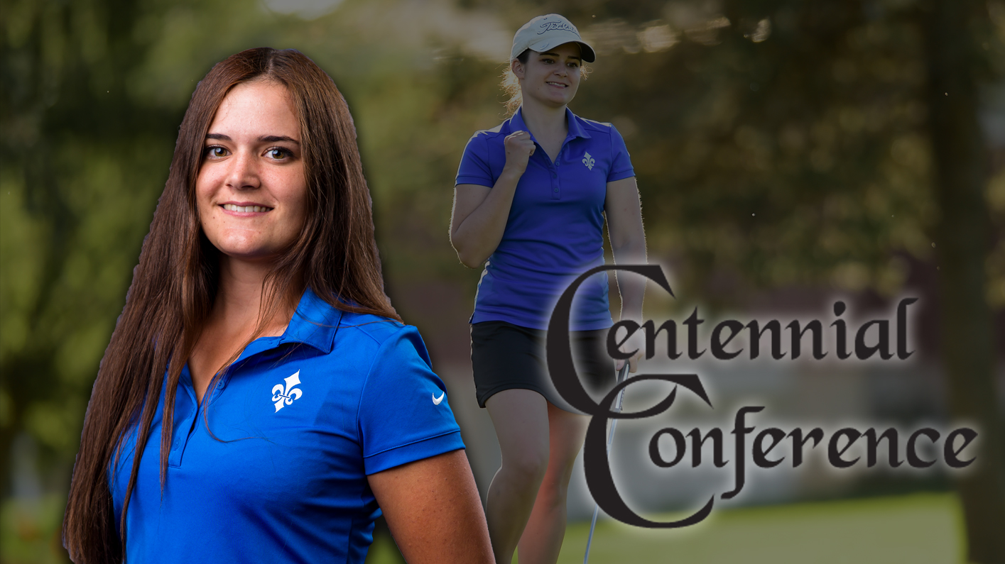 Bertacche earns second Centennial Conference women's golf Athlete of the Week
