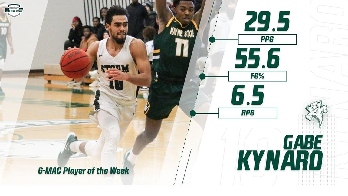 Kynard Tabbed As G-MAC Player of the Week