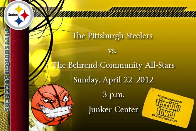 Behrend Basketball Welcomes Pittsburgh Steelers on Sunday