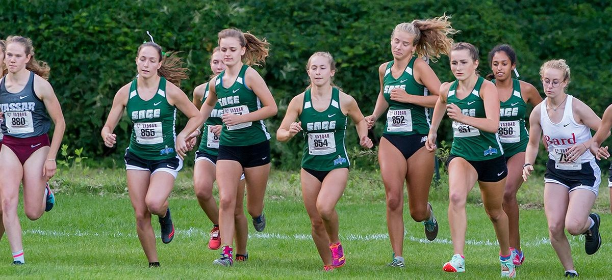 Sage runners open new season with successful showing at Vassar Invitational