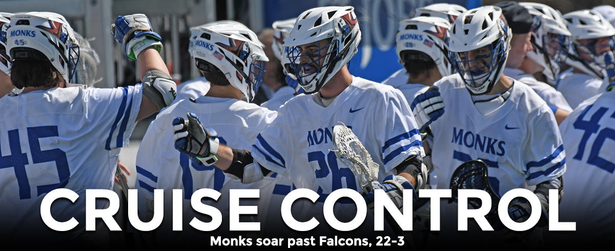 Monks Fly Past Falcons, 22-3