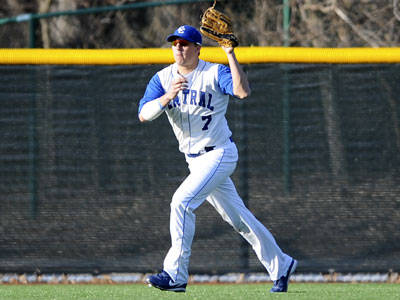 Baseball Drops 12-6 Decision on Friday at Mount St. Mary's