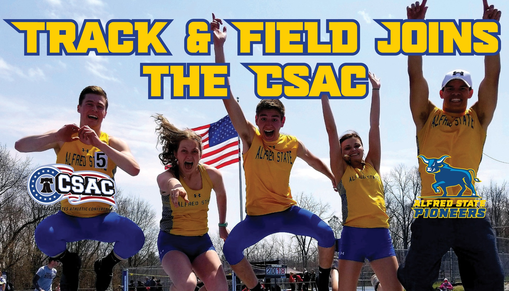 Track & Field joins the CSAC
