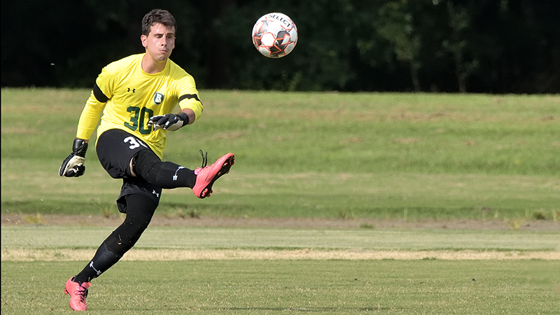 In Tight Match, Men's Soccer Ends In Tie Against Louisburg