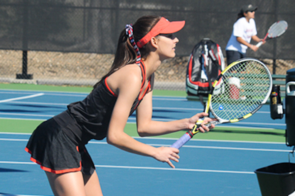 Lady Hawks tennis closes regular season with loss to Millsaps