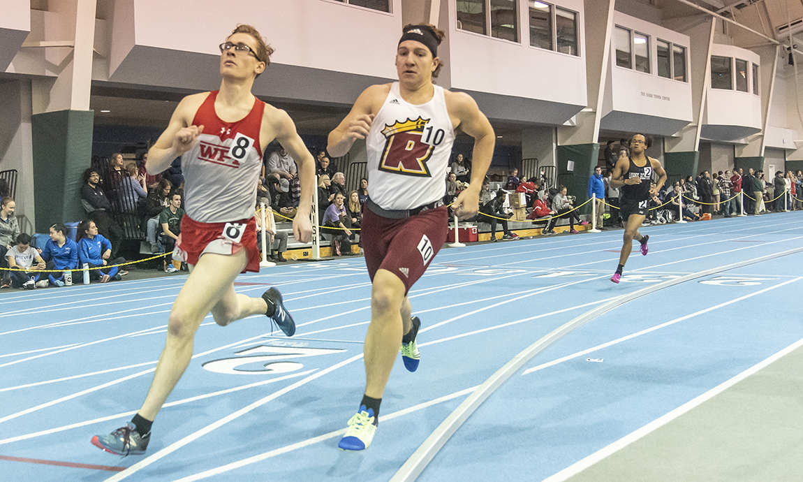 Men's Track and Field Finish Final Meet Before New England Regionals