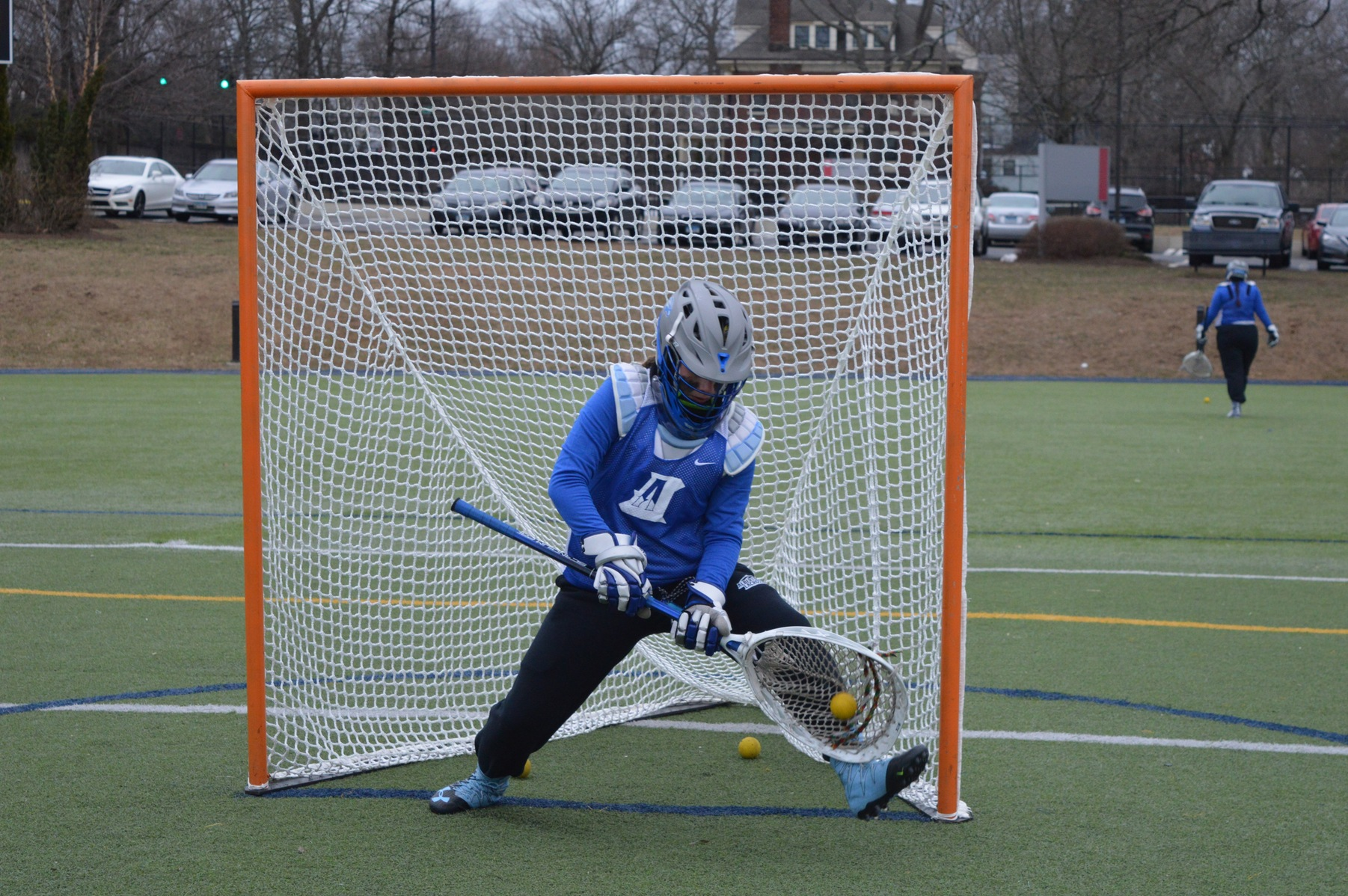 Simmons Outlasts Women's Lacrosse