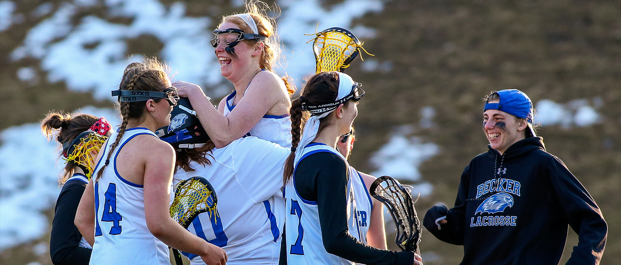Women's Lacrosse Posts Program-High 10 Wins; Conway and Storey Break School Records in Win over Wildcats