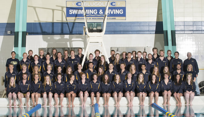 Blugold Swimming & Diving Distributes 2012-13 Team Awards