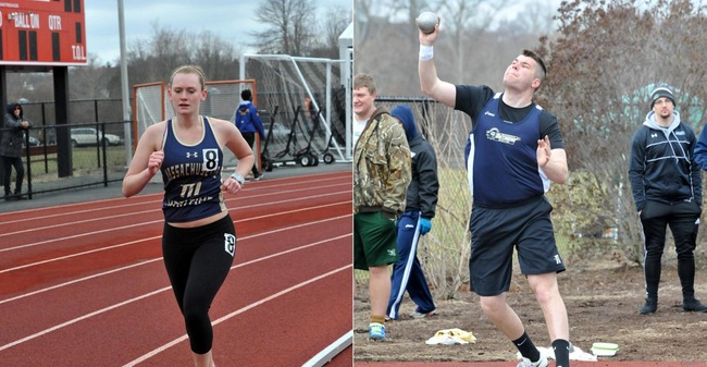 Outdoor Track & Field Records 25 Top 10 Individual Finishes At Non-Scoring Regis Spring Classic