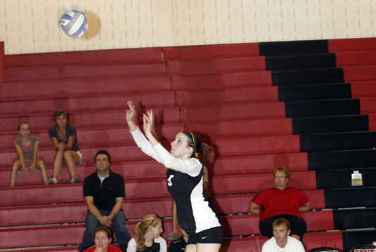 Volleyball blanked at Haverford