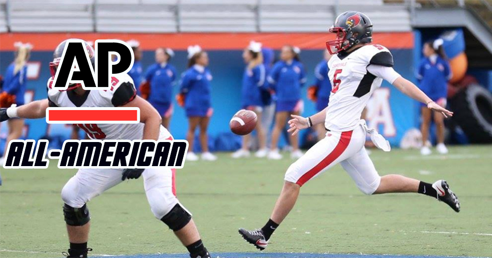 Associated Press Tabs DiNardo to All-America Second Team