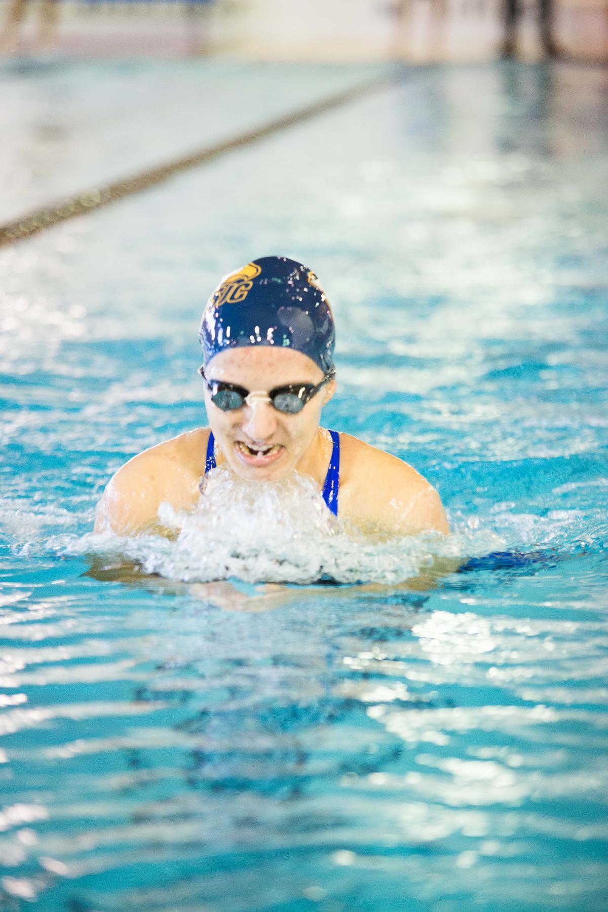 2015 16 Women 39 S Swimming Senior Day 11 21 St Joseph 39 S College Long Island Golden Eagles
