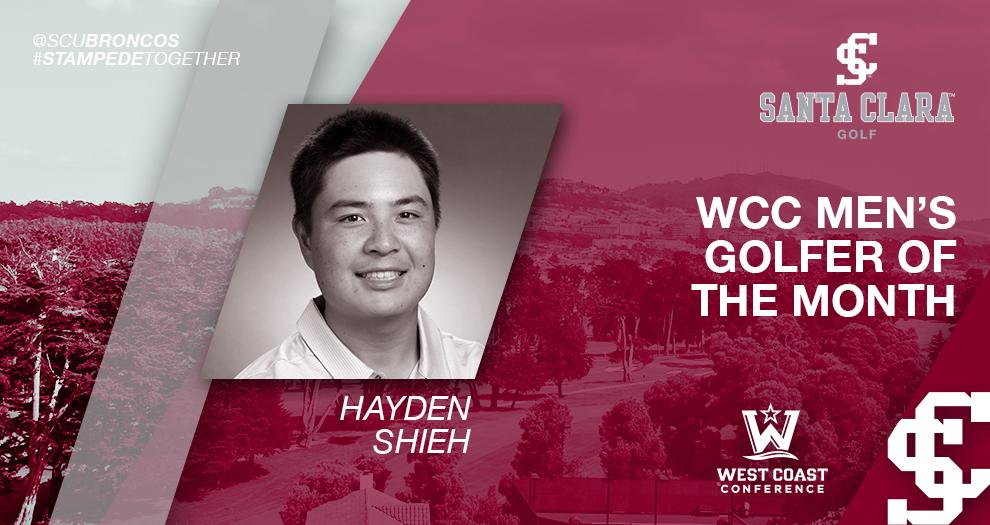 Men's Golfer Earns WCC Honor