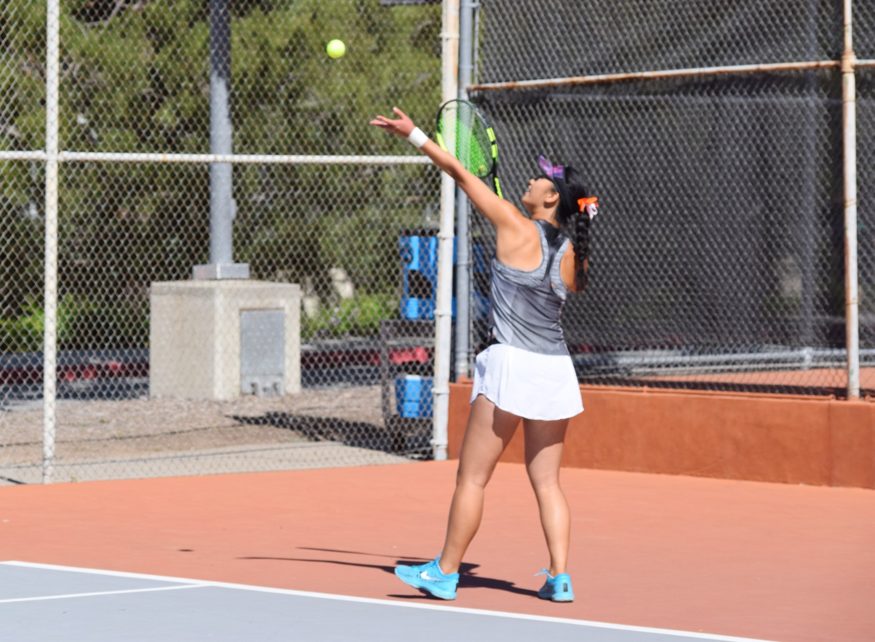 Moriyama, Liu Nearly Complete Doubles Comeback in SCIAC Semi's
