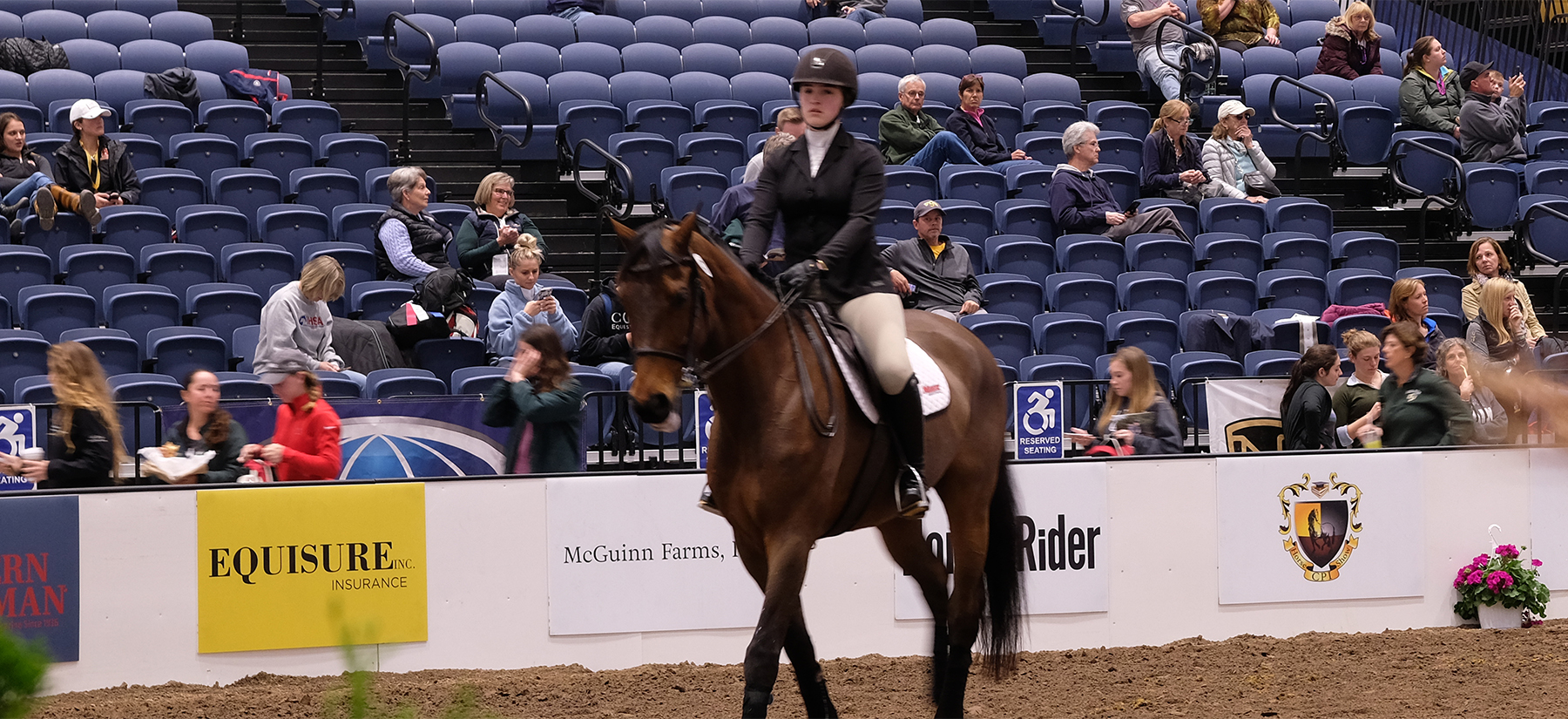 Equestrian Places in Top 10 at UCONN Tournament of Champions