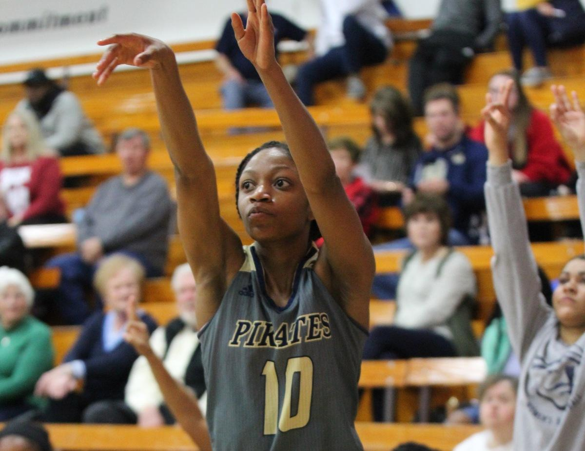 Five Lady Pirates Hit Double Figures In Rout Of Red Devils