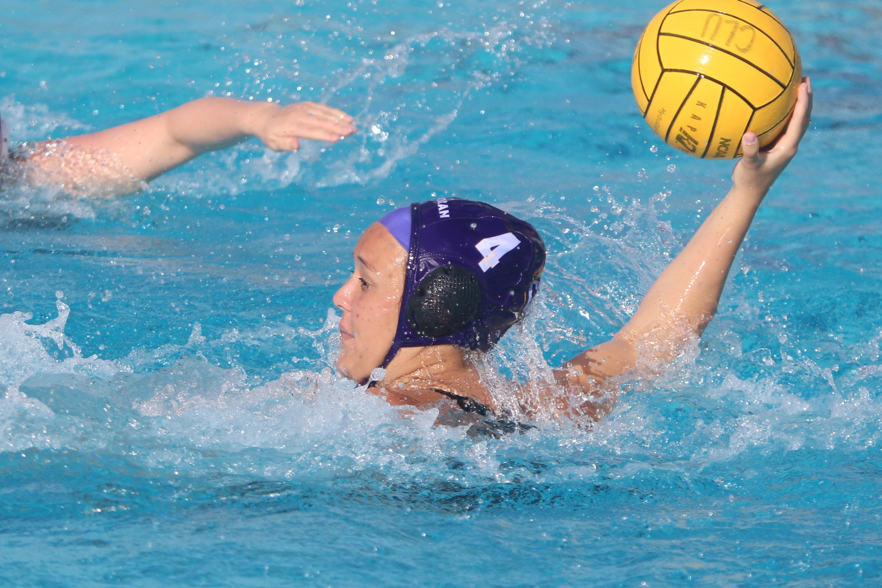 Lexi Rond records a hat trick against Azusa Pacific.
