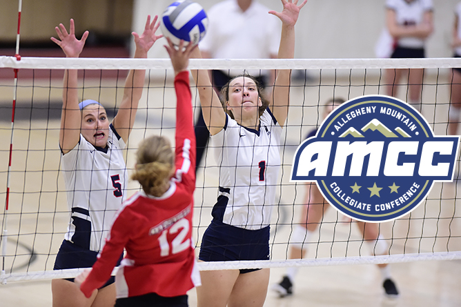 Irwin, Reiland Highlight Women's Volleyball All-AMCC Honors