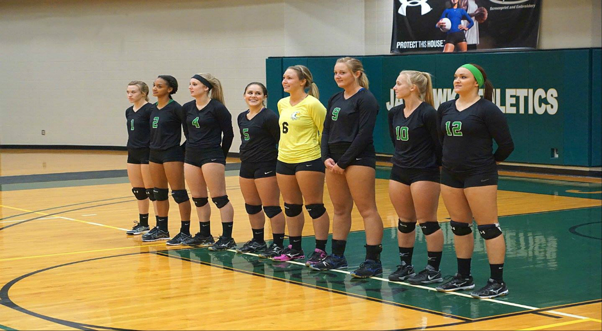 Women's volleyball vs Genesee CC (Region III Tournament Semifinals)