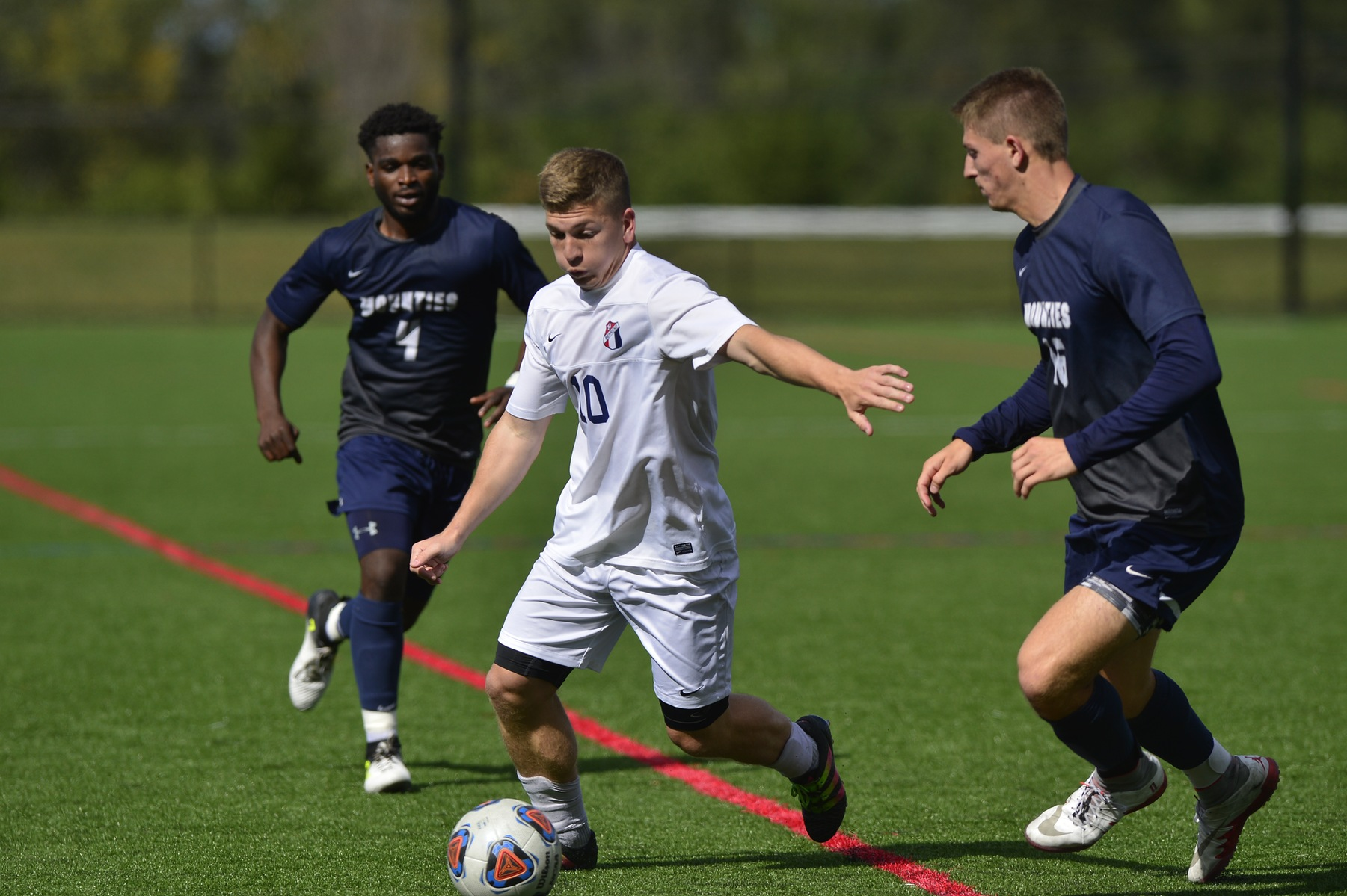 Men's Soccer Falls To Grove City in Final Seconds