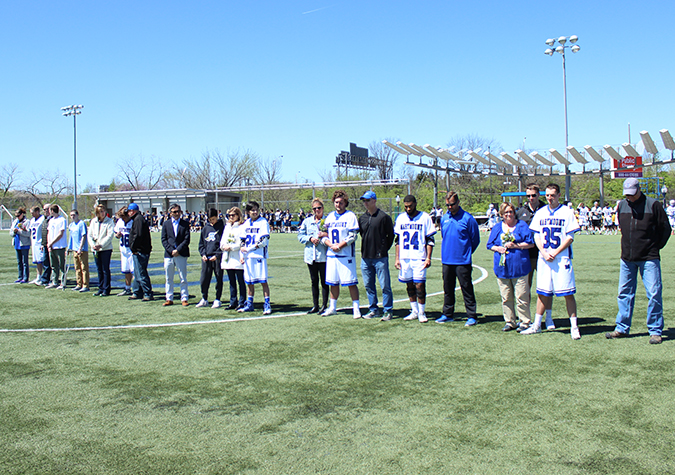 Saints down St. Mary's for first time in 20 years on Senior Day