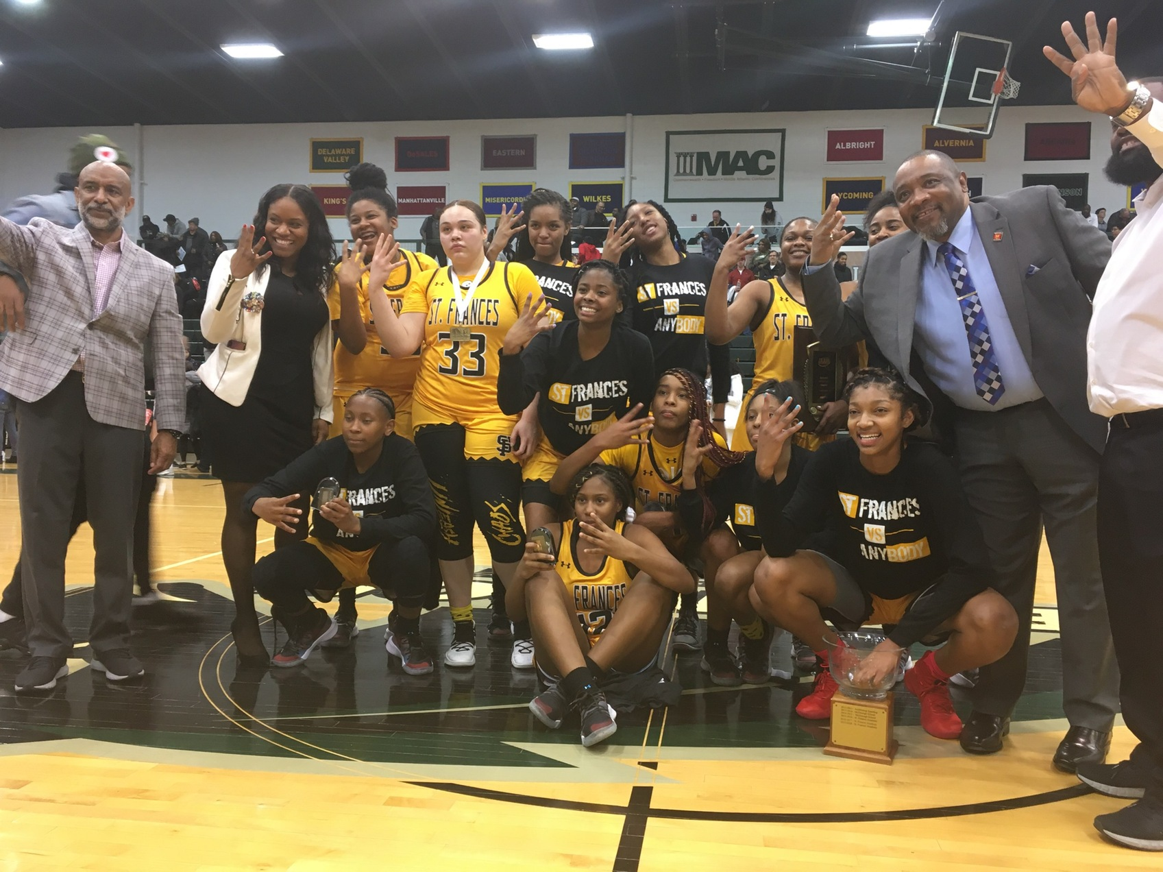 St. Frances takes fourth straight A Conference basketball title