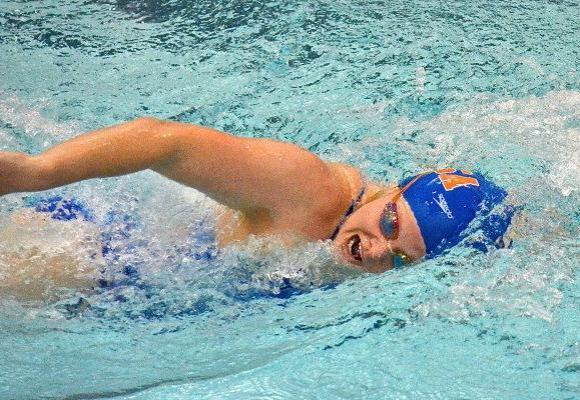 Women's Swimming and Diving Sixth after NEWMAC Day Two