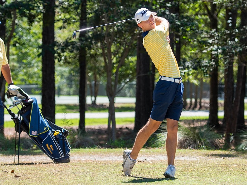 MGCCC golfer Brice Wilkinson (So., Madison Central/Madison)  photo: MGCCC Athletics