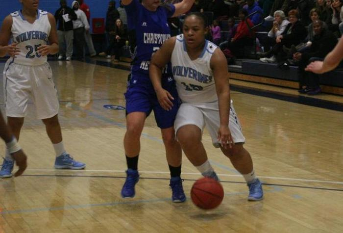 Stroud Leads Women's Hoops to CAC Victory at Marymount