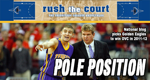 "National blog ""Rush the Court"" puts Tech first in OVC power rankings"
