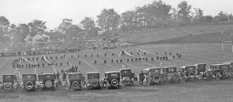 For As Long There Have Been Cars Overlooking The Gridiron Here On Hill Its Just Sort Of How We Do Football At McDaniel