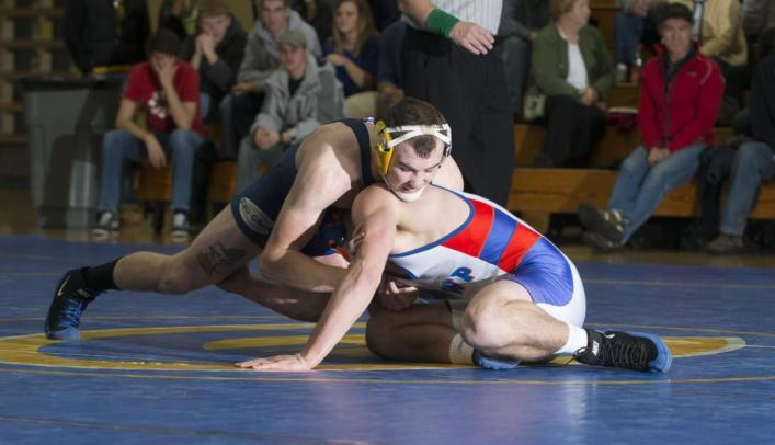 Wrestling Falls to Both UW-Platteville and St. Olaf