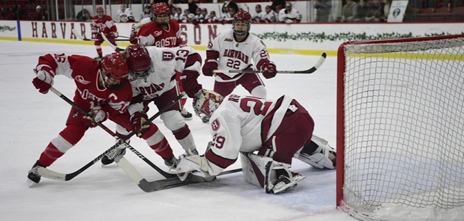Harvard falls to No. 7 Boston University in Beanpot Title game