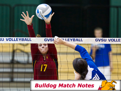Women's Volleyball Weekly Notes (Matches 10-12)