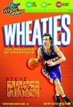 Wheaties Honors Steve Nash