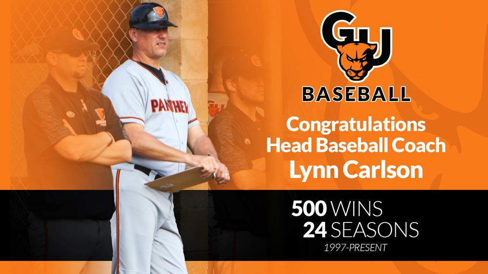 Baseball comes back for Carlson's 500th win