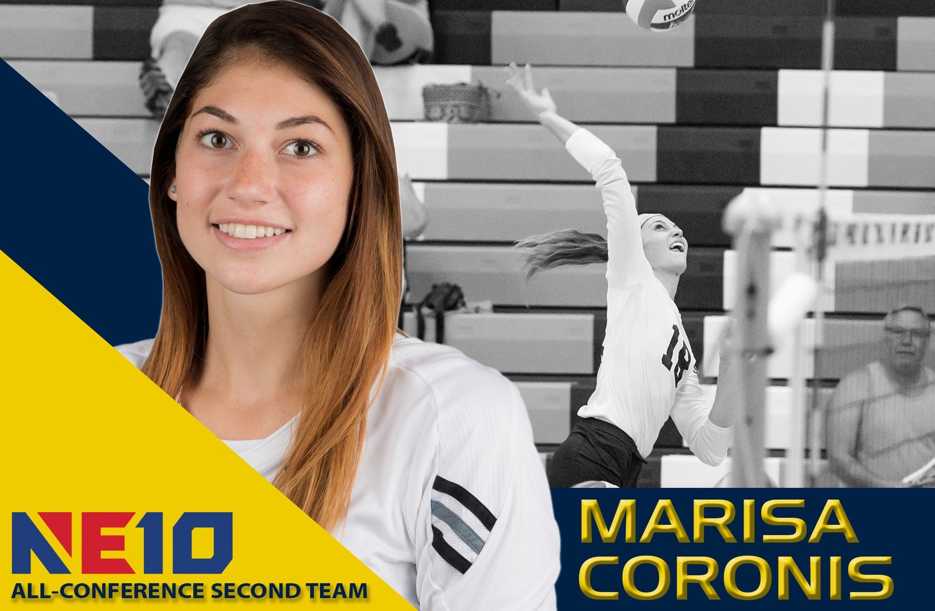 Coronis Earns Spot on Northeast-10 All-Conference Second Team