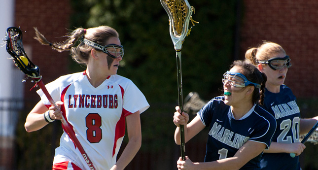 LC Women's Lacrosse Defeats Hollins 18-1; Stays Undefeated in ODAC