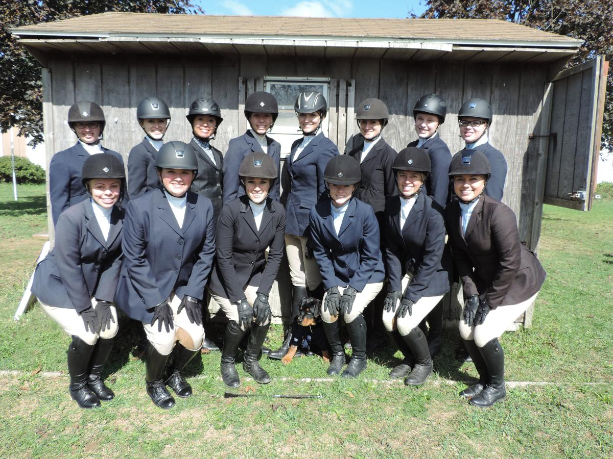 Equestrians Wins Second-Straight Regional Championship