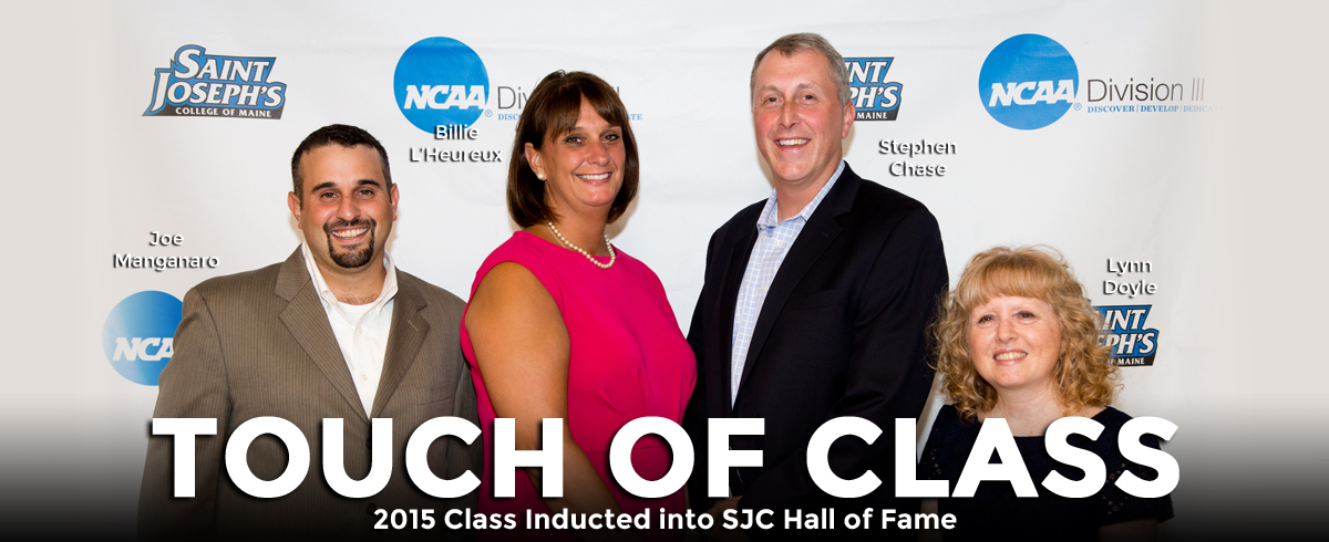 2015 SJC Athletics Hall of Fame Class Inducted