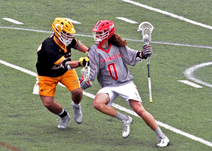 Bryce Coates scored three goals in Saturday's loss to Southwestern.