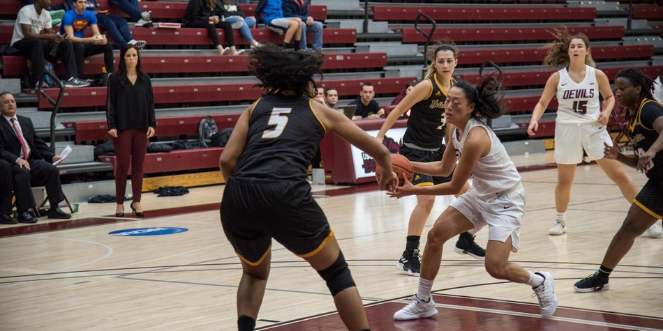 No. 14 Women's Basketball Uses Dominant Second Quarter to Overcome American International in Season-Opener
