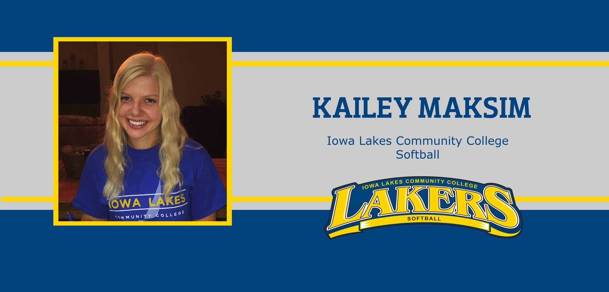 Lakers Sign Kailey Maksim