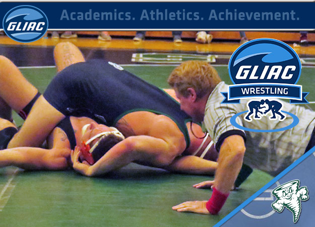 Lake Erie's Rosborough Muscles Way to GLIAC Wrestler of the Week Honors