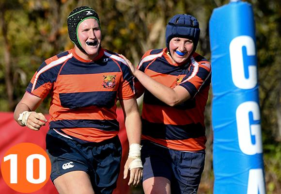 TOP MOMENT #10 - Women's Rugby Club Advances to Fall Championship