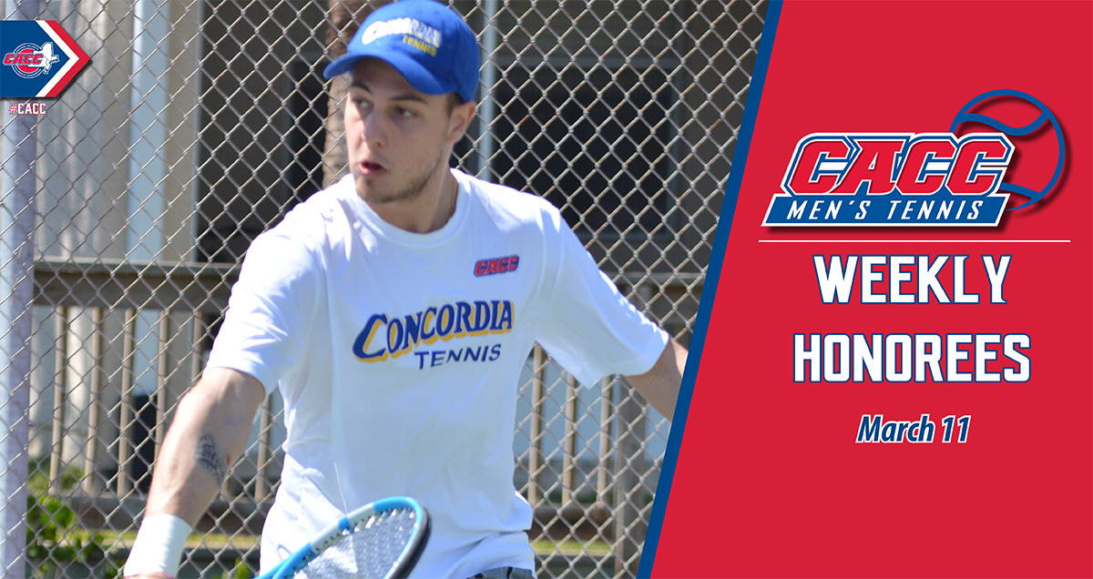 CACC Men's Tennis Weekly Honorees (March 11)